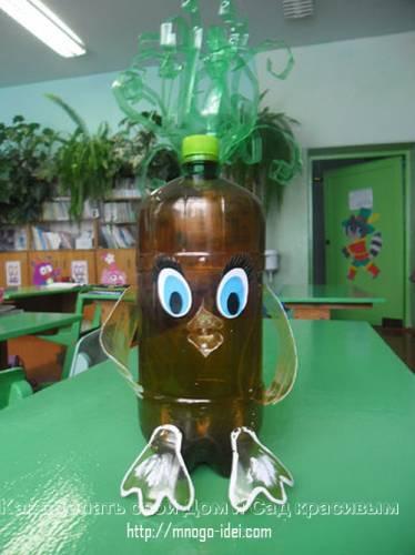 Поделки из пластиковых бутылок своими руками (фото)